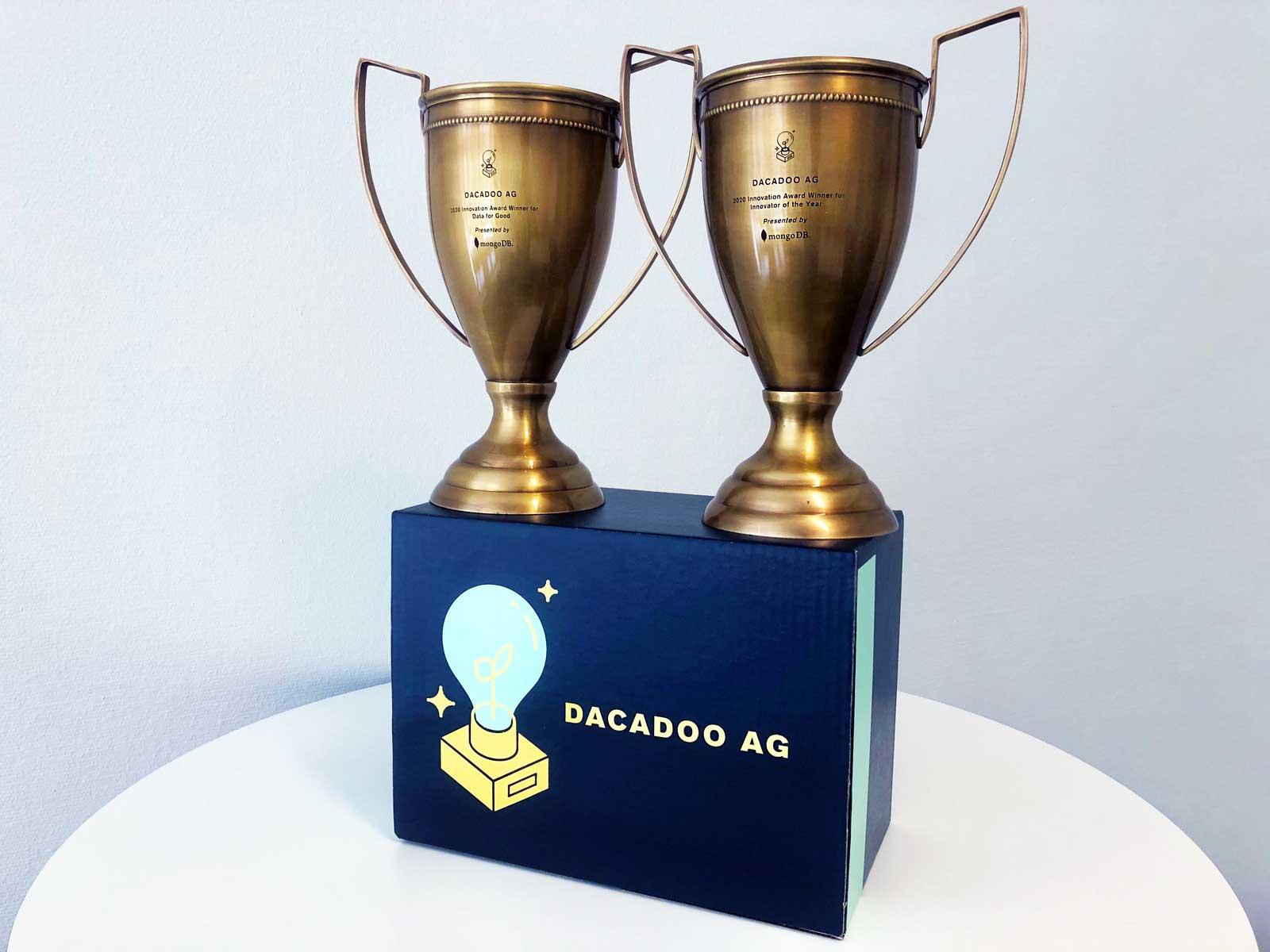 MongoDB awards dacadoo