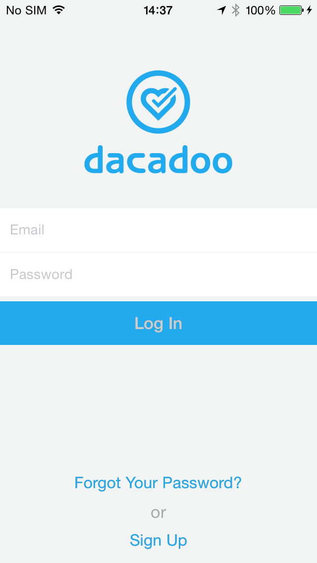 dacadoo application log in