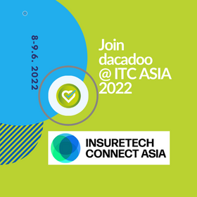 dacadoo participates InsureTech Connect Asia 2022. Health or Life Insurance considering digital transformation must attend this big Insurtech event in Asia!